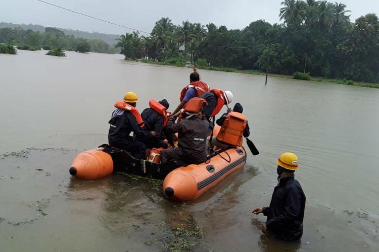 Heavy rains continue in coastal Karnataka many dams reaching full capacity