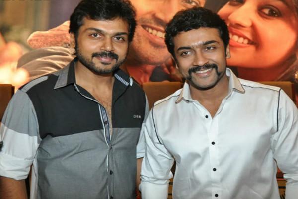 Suriya and Karthi to unite in Singam 3