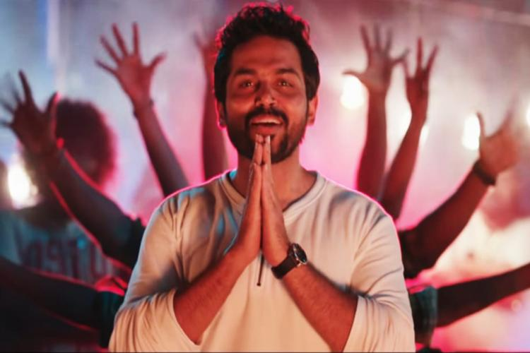 Karthi in dance number Jai Sulthan from the movie Sulthan