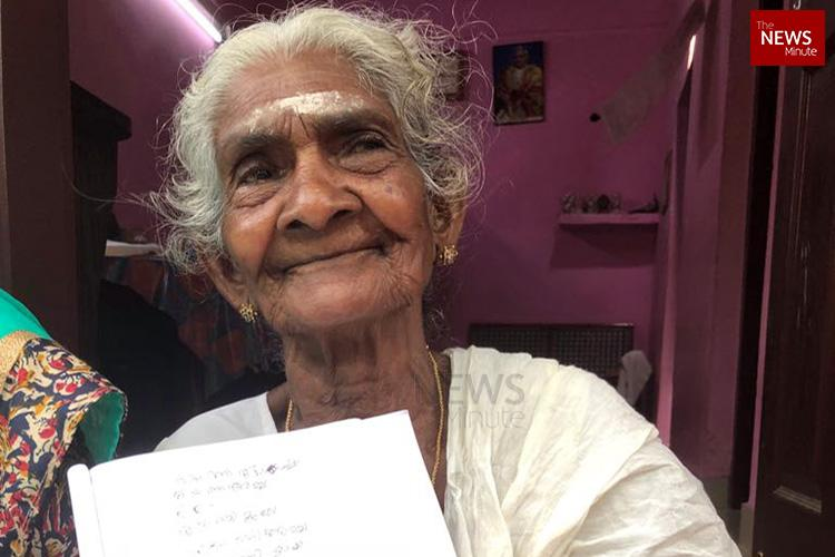 Never too old for school Meet the 96-yr-old student in Alappuzhas literacy mission