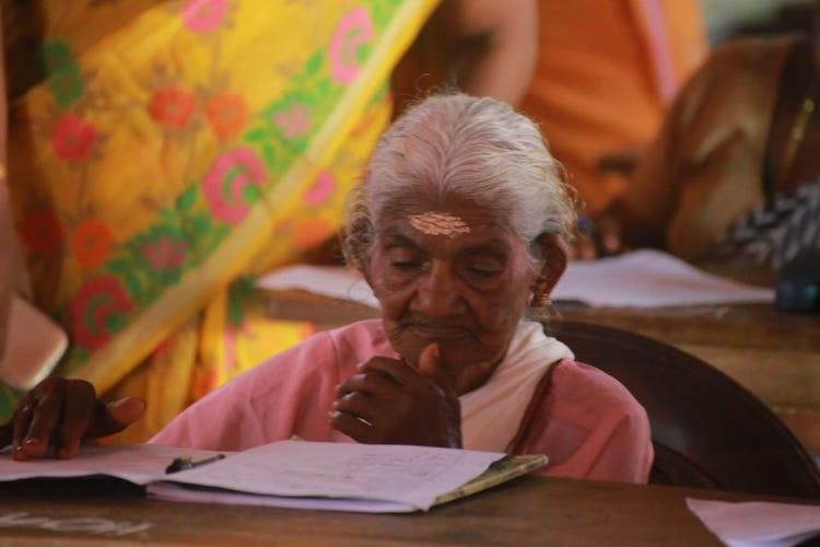 At 96 Kerala Grandma Aces Her First Exam Gets Full Score In