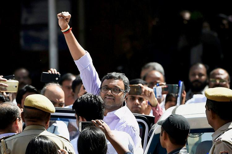 Karti Chidambaram in CBI custody for 3 more days gets protection from ED arrest