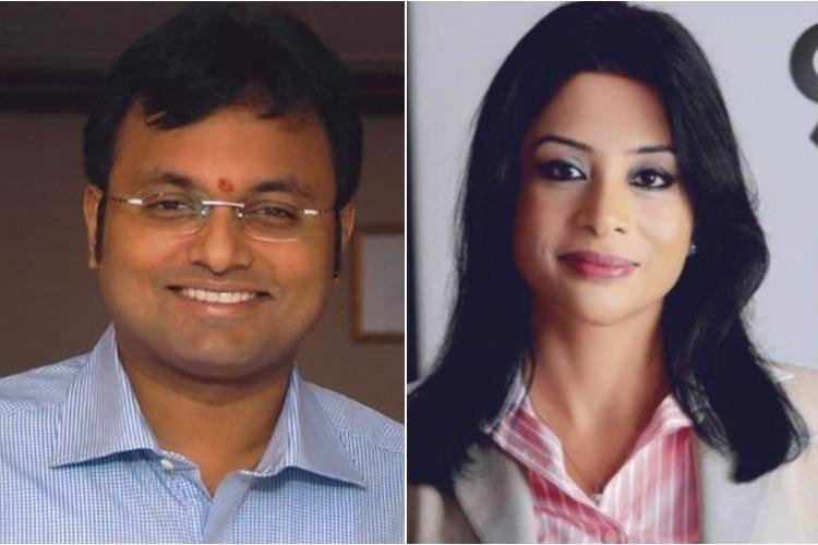 Indranis confession caught on camera claims she paid 1 million to Karti