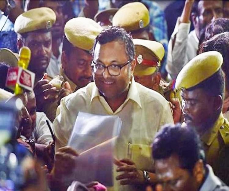 Congress Member of Parliament Karti Chidambaram