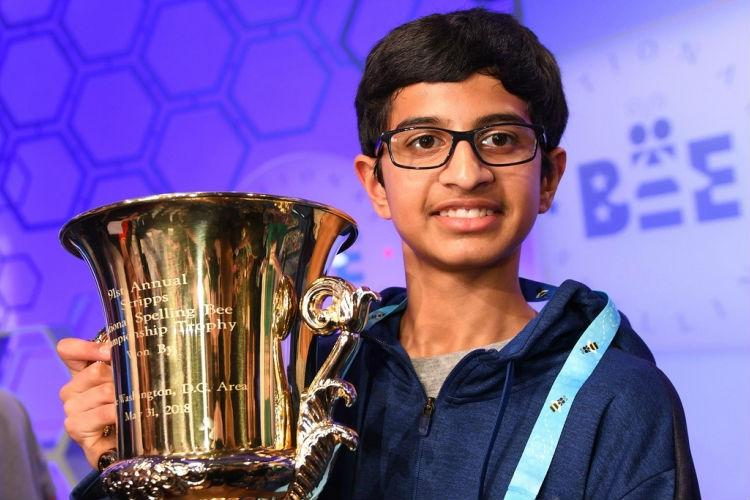 For 11th year in a row Indian-origin student wins US Spelling Bee championship