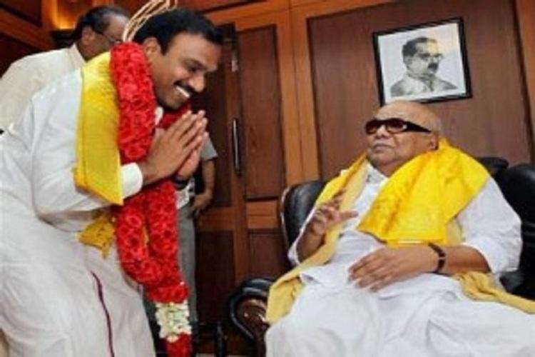 Raja writes to Karunanidhi Wholl punish those who tainted your image