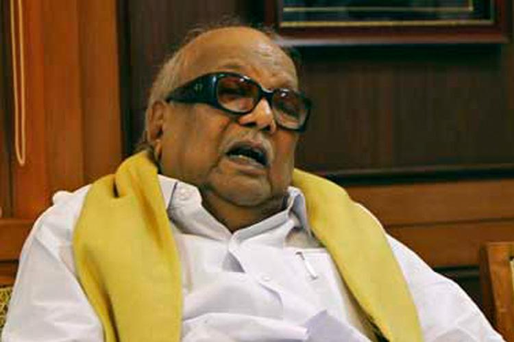Marina for Karunanidhi What happened overnight at the Acting CJs residence