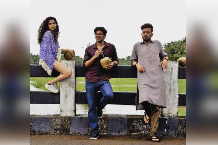 Didnt want to have a debut just by myself Dulquer on acting with Irrfan in Karwaan