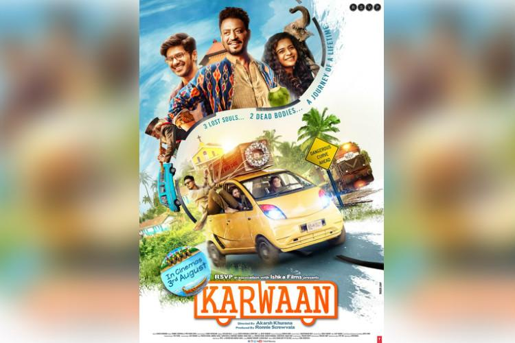 Trailer of Karwaan Dulquer Salmaans Hindi debut out