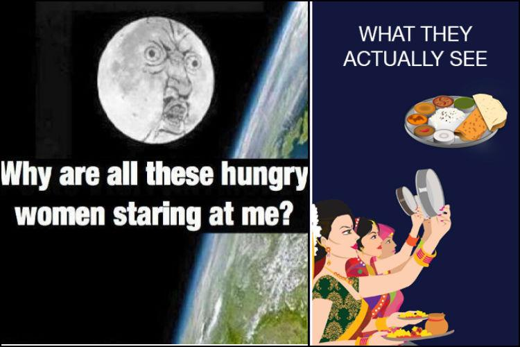 To fast or to feast Check out these hilarious Karwachauth memes
