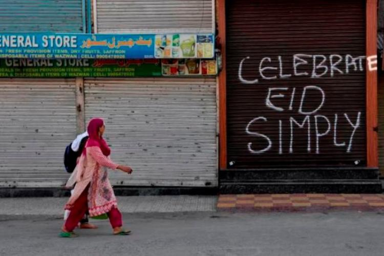 Ground report Eid-Ul-Adha in Kashmir a day of curfew killings and protests