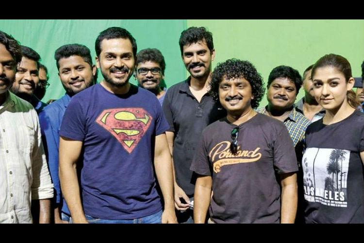 Karthi-starrer Kaashmoras first look to be out on Aug 18