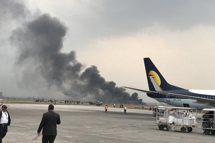 Massive plane crash in Nepal At least 60 on board 17 rescued so far