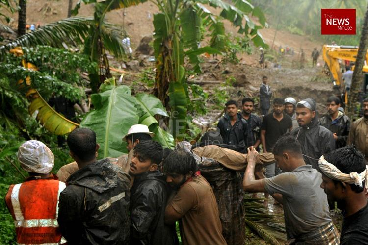 Kerala landslide Bodies of 4-yr-old and two others recovered death toll rises to 11