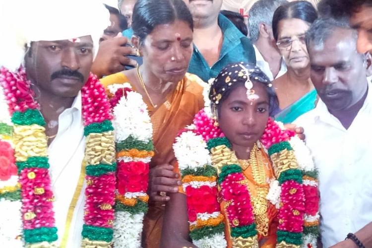 Slain SFI leader Abhimanyus sister Kausalya gets married in ceremony arranged by CPIM