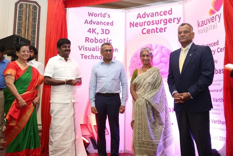 Kauvery Hospital launches advanced robotic technology to aid neurosurgery