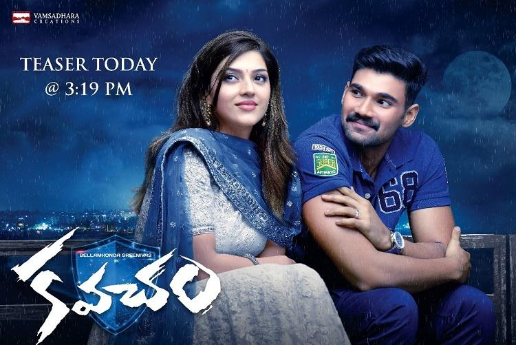 Teaser of Sai Sreenivas upcoming flick Kavacham out