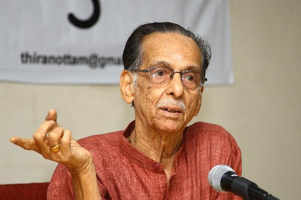 Theatre doyen Kavalam Narayana Panicker passes away