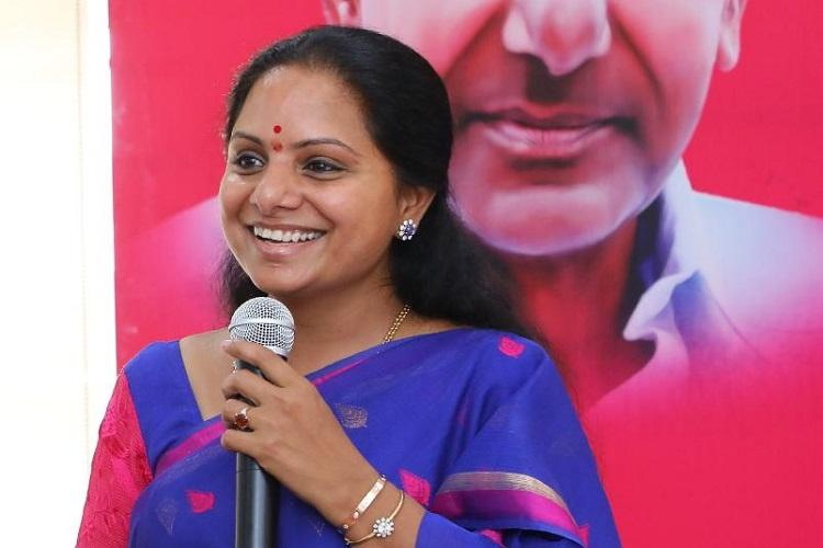Elections will be cake walk for TRS Kavitha begins canvassing in Nizamabad