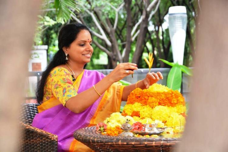 How Telangana MP Kavitha is taking Bathukamma to a global stage