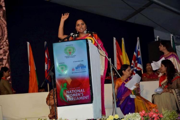 Jai Andhra says Telangana MP Kavitha extends support to AP for special status