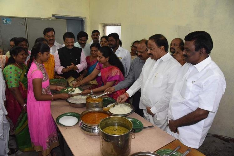 Over 5 lakh people fed TRS leader K Kavithas free food centre completes 2 years