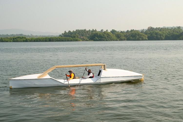 Kayaking for a cause These 3 Keralites are on a mission to rid the ocean of plastic