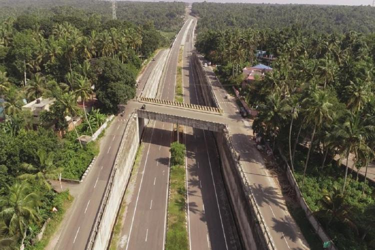 Keralas newly inaugurated Kazhakuttam-Mukkola NH Bypass