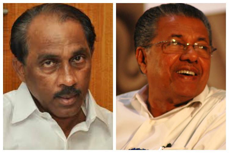 After resignation its war of words between Babu and Pinarayi