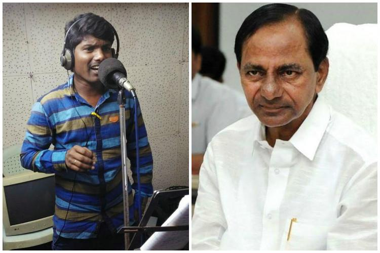 They rose like a wave Viral song celebrates Telangana irrigation project agitation