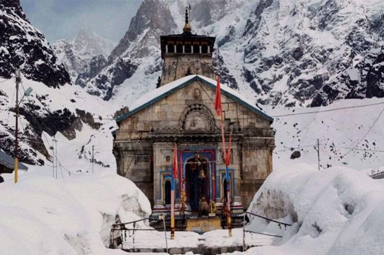 Andhra pilgrims stranded during Kedarnath yatra reach safer ground after snowfall
