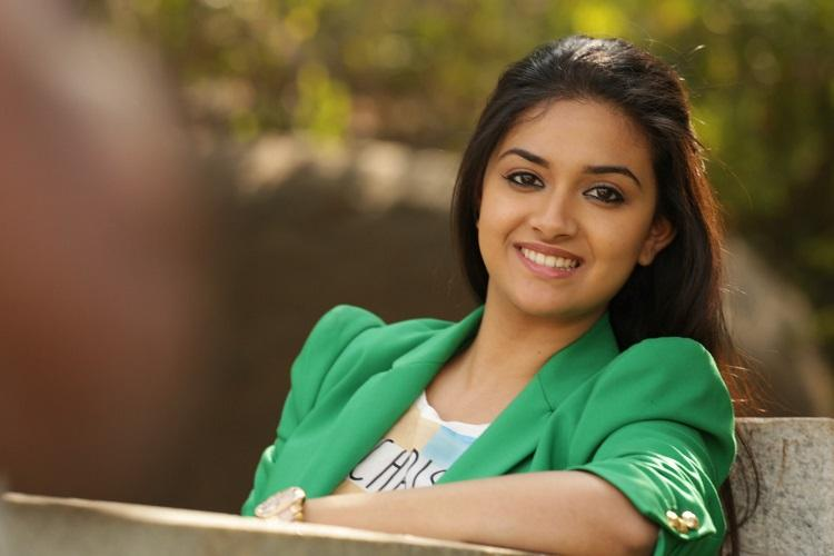 Keerthy Suresh dubs in her own voice for Pawan Kalyans film