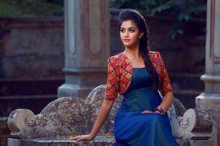 Keerthy Suresh to play female lead in Rajamoulis RRR