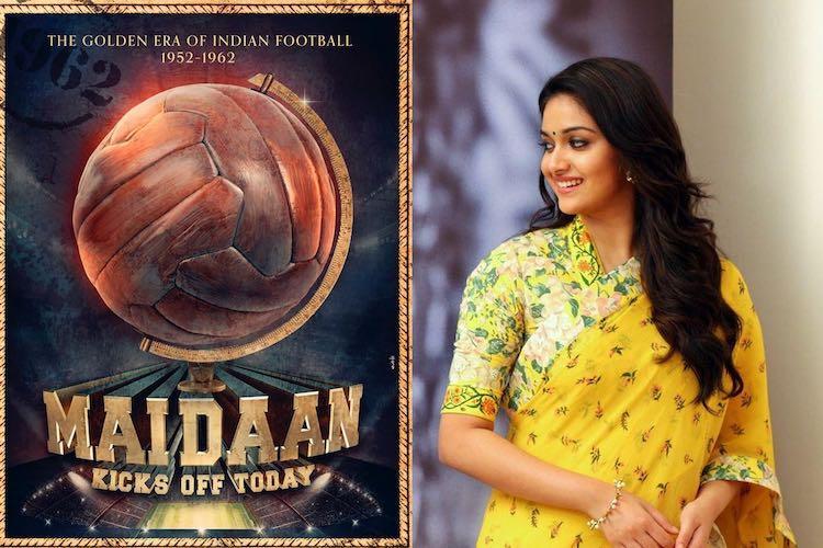 Keerthy Suresh to make her Bollywood debut with Maidaan
