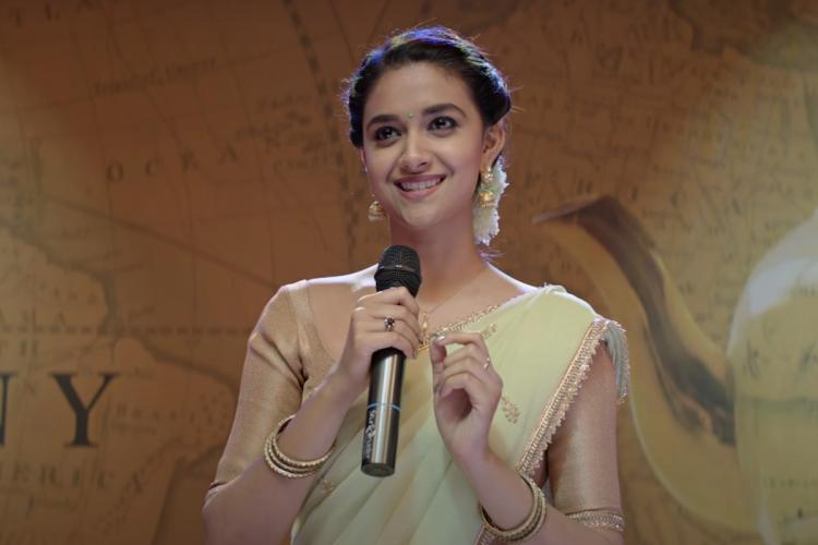 Keerthy Sureshs Miss India trailer out film to release on Netflix