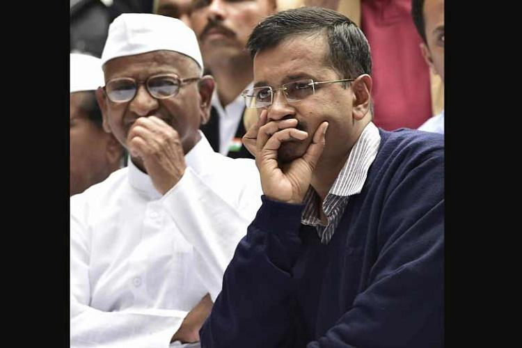 What goes around comes around BJP wants Anna Hazare to visit Delhi and speak on AAP misrule