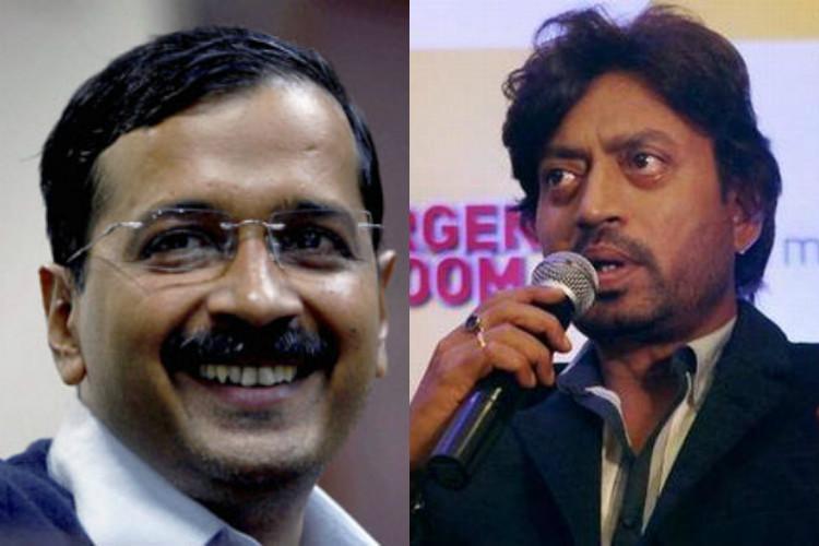 Irrfan Khan to meet Arvind Kejriwal