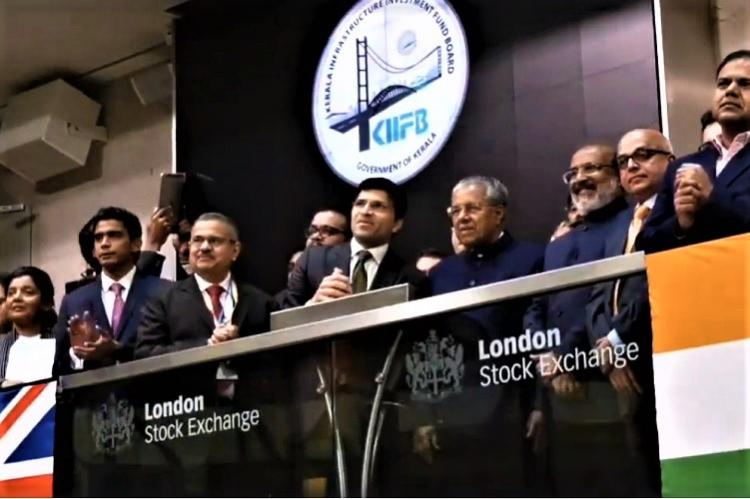 Kerala CM rings bell at London Stock Exchange for listing of KIIFBs masala bonds