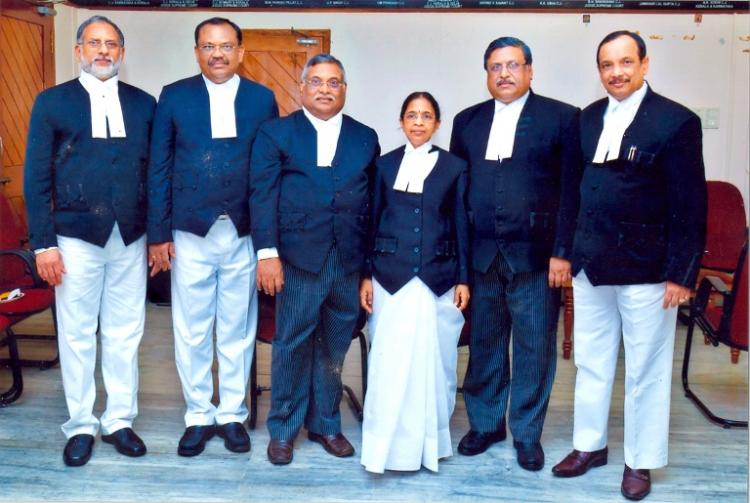 Six judges of the Kerala high court have a college reunion every day at work