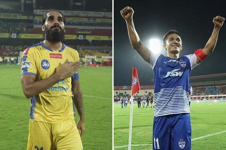 ISL Southern rivals Kerala and Bengaluru square up in spicy battle