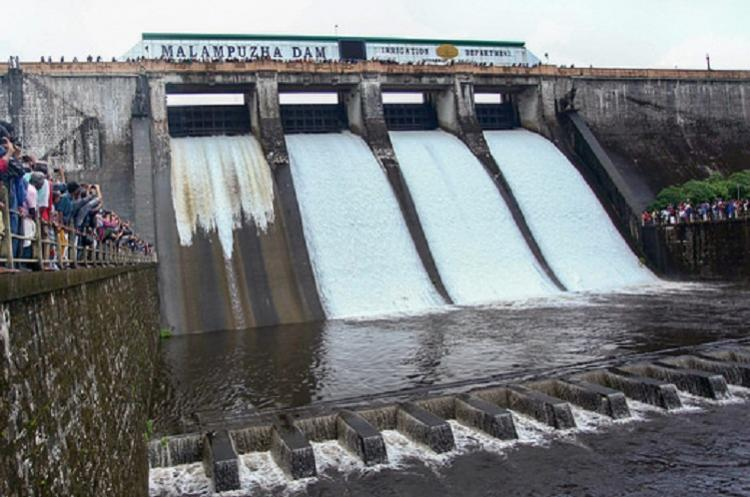 Four shutters of Malampuzha dam in Palakkad to be opened orange alert on October 8