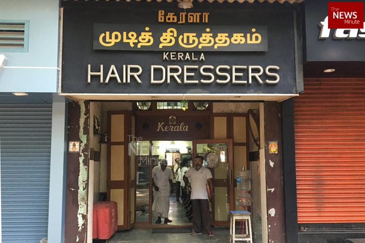 Snip snip since 1939 Meet Kerala hairdressers one of the oldest in Chennai