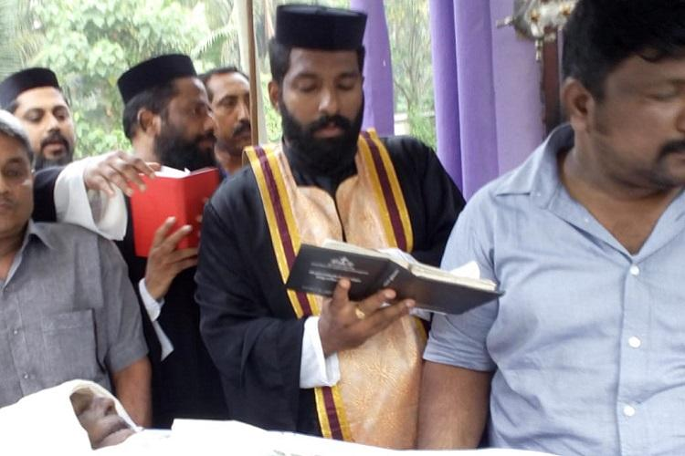 After 10-day delay due to church fight Kerala man finally buried