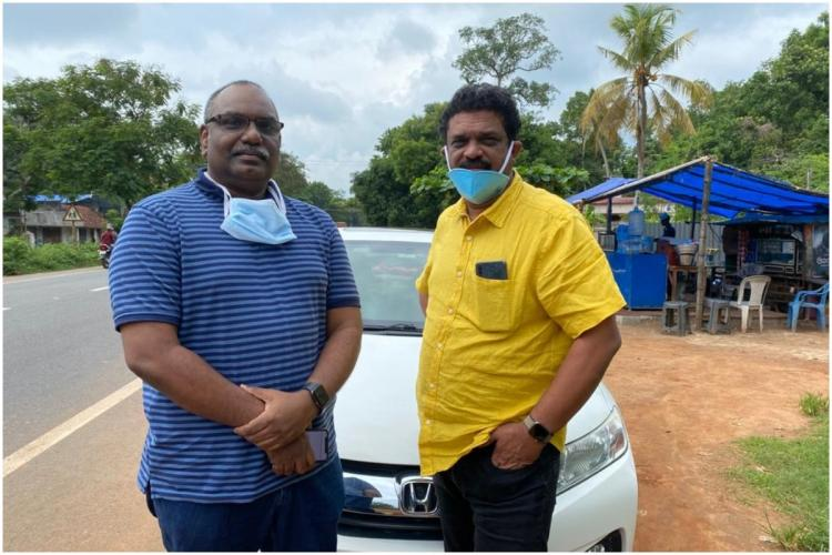 Kerala doctors Santhosh and Santhosh who went to Maharashtra to assist in COVID-19 fight