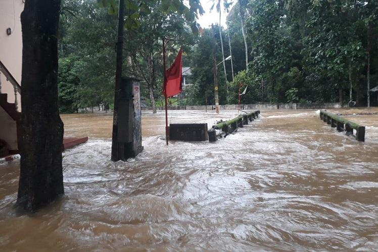 Kerala reels under monsoon fury Trains cancelled road connectivity affected