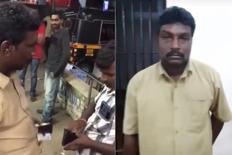Watch Kerala cops mock man who slapped migrant worker with a video