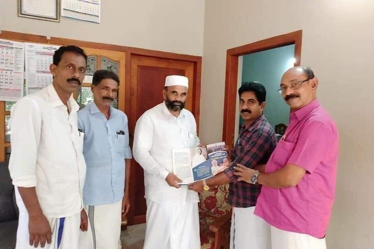Kerala Muslim leader suspended by Samastha for accepting pro-CAA pamphlet from BJP