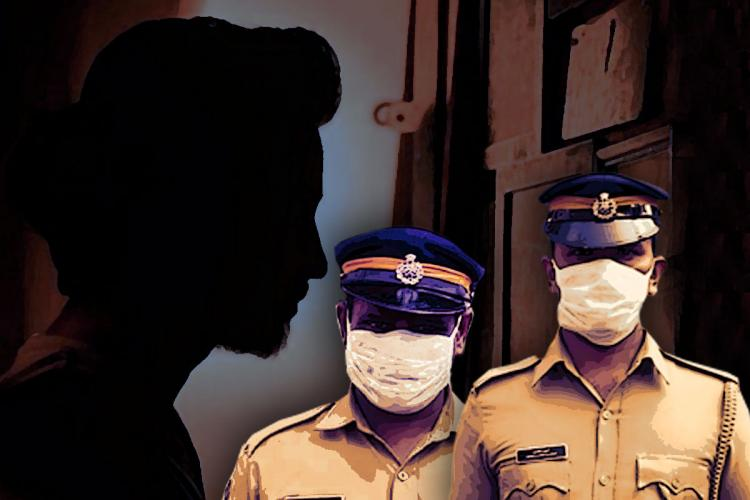 Representative image of police personnel and right to dignity