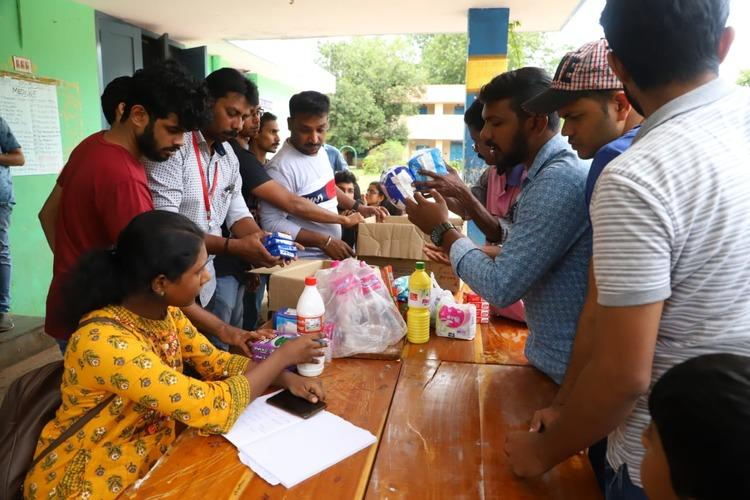 Kerala needs your help Collection centres for relief materials almost empty this year
