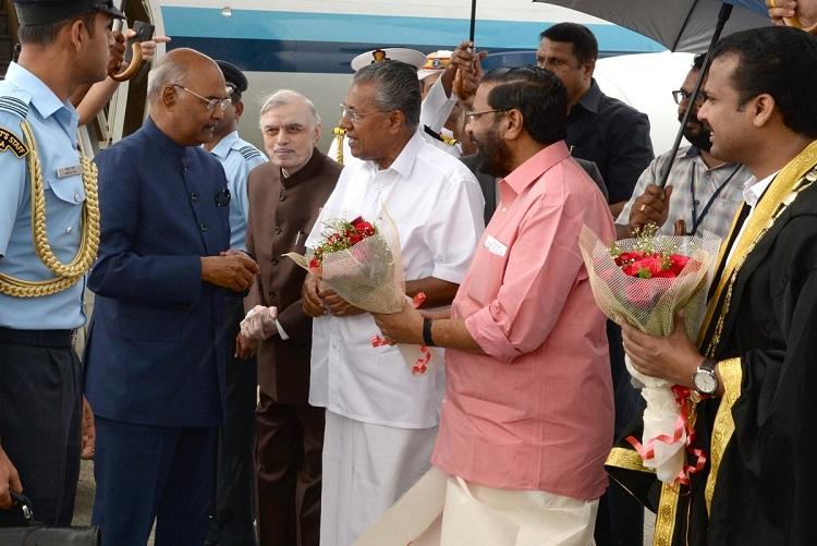 President Kovind applauds Keralas unity and religious tolerance
